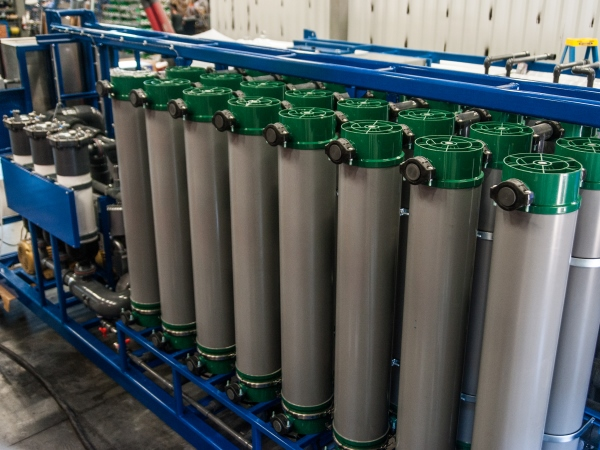 ultrafiltration water treatment system membranes