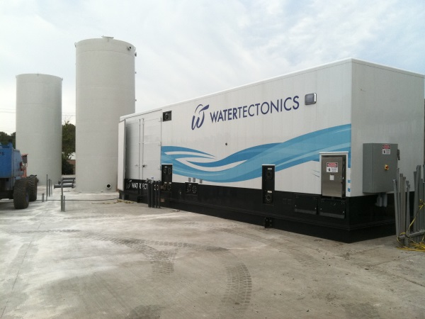 electrocoagulation industrial stormwater system