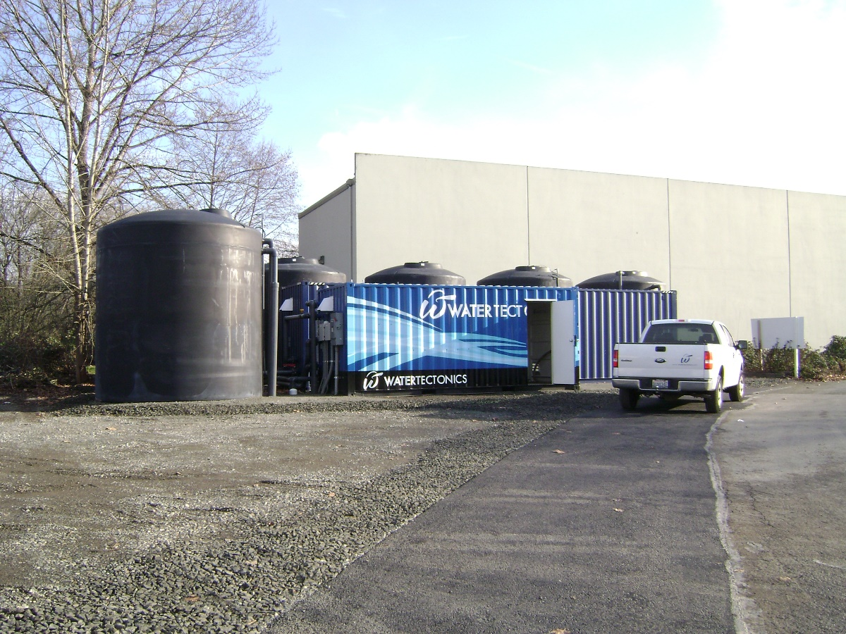 300gpm electrocoagulation stormwater treatment