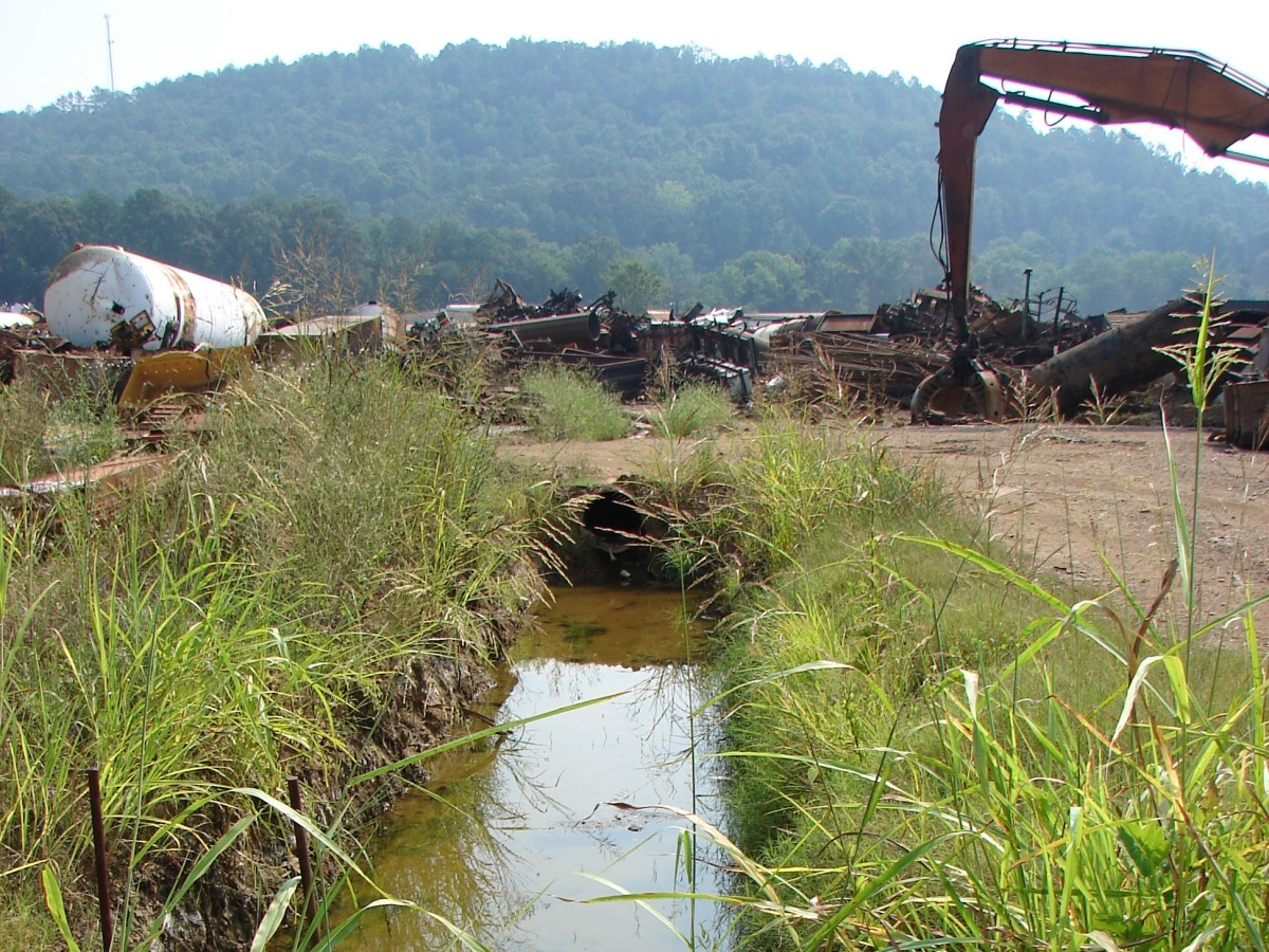 Alabama scrap yard water treatment