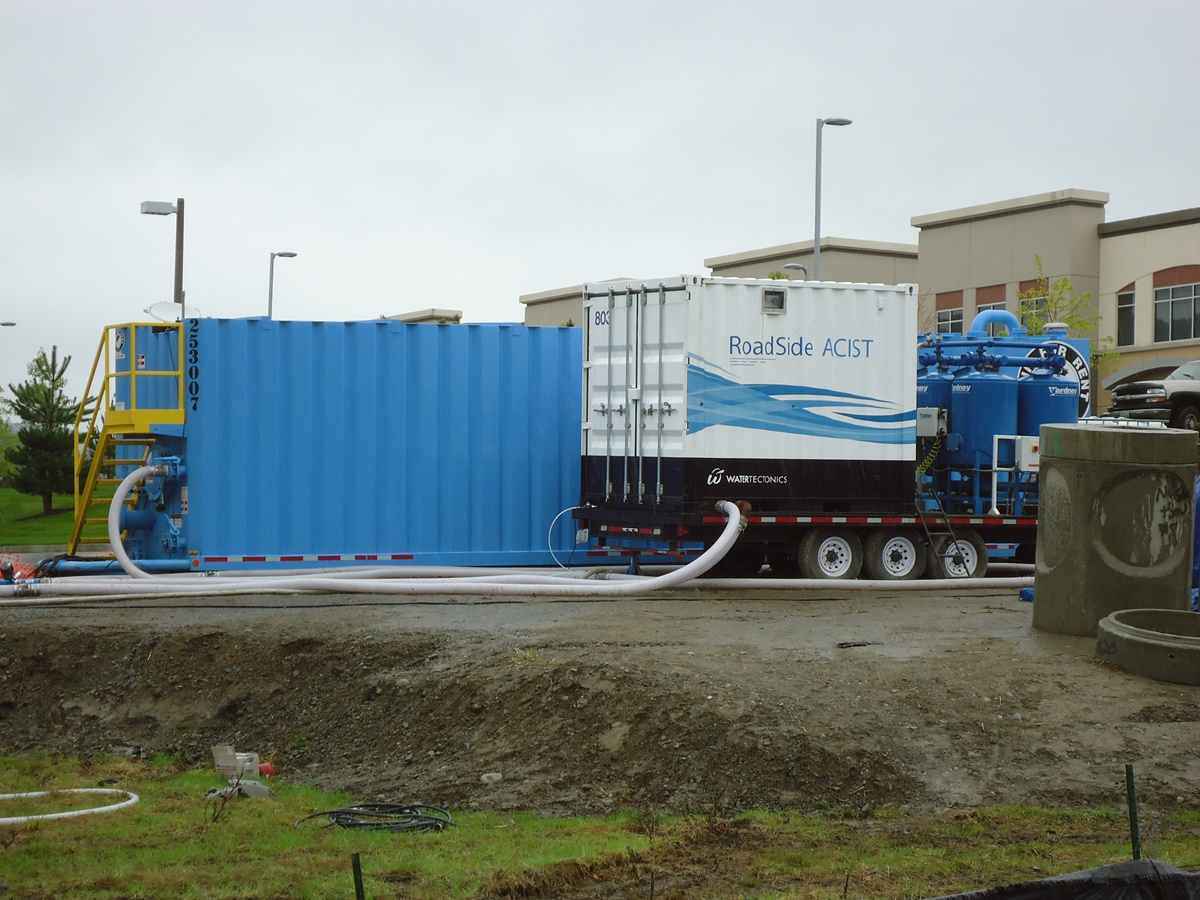 300gpm CESF water treatment system