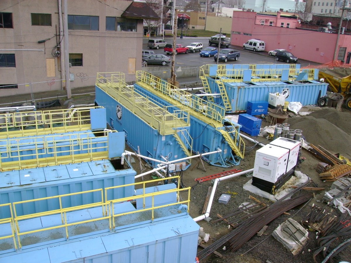 600gpm water treatment system