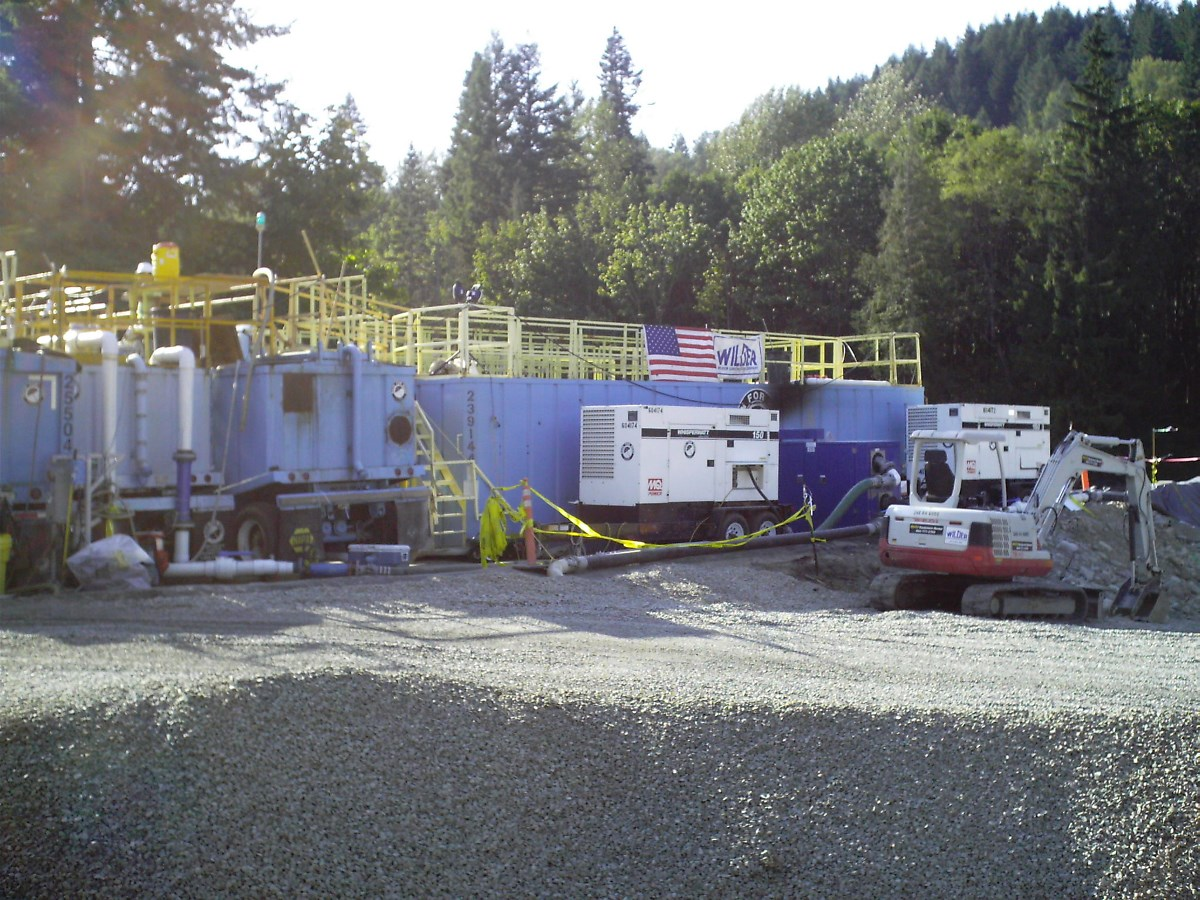 1,200gpm water treatment system