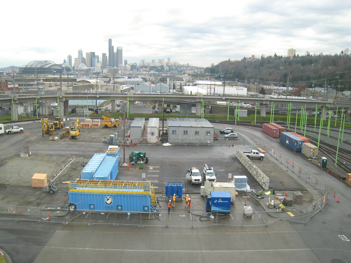 sound transit construction water treatment