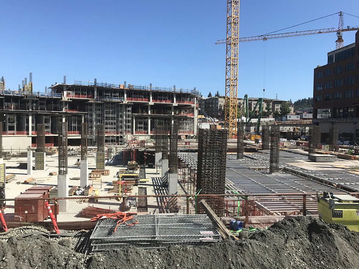 concrete work at kirkland urban
