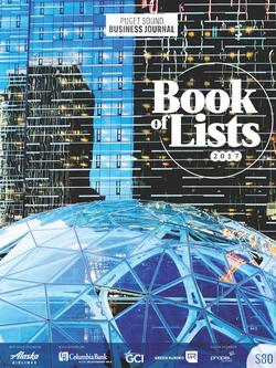 2017 Book of Lists Puget Sound Business Journal