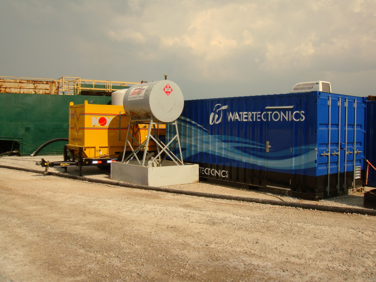 recycle flowback and produced water in Texas