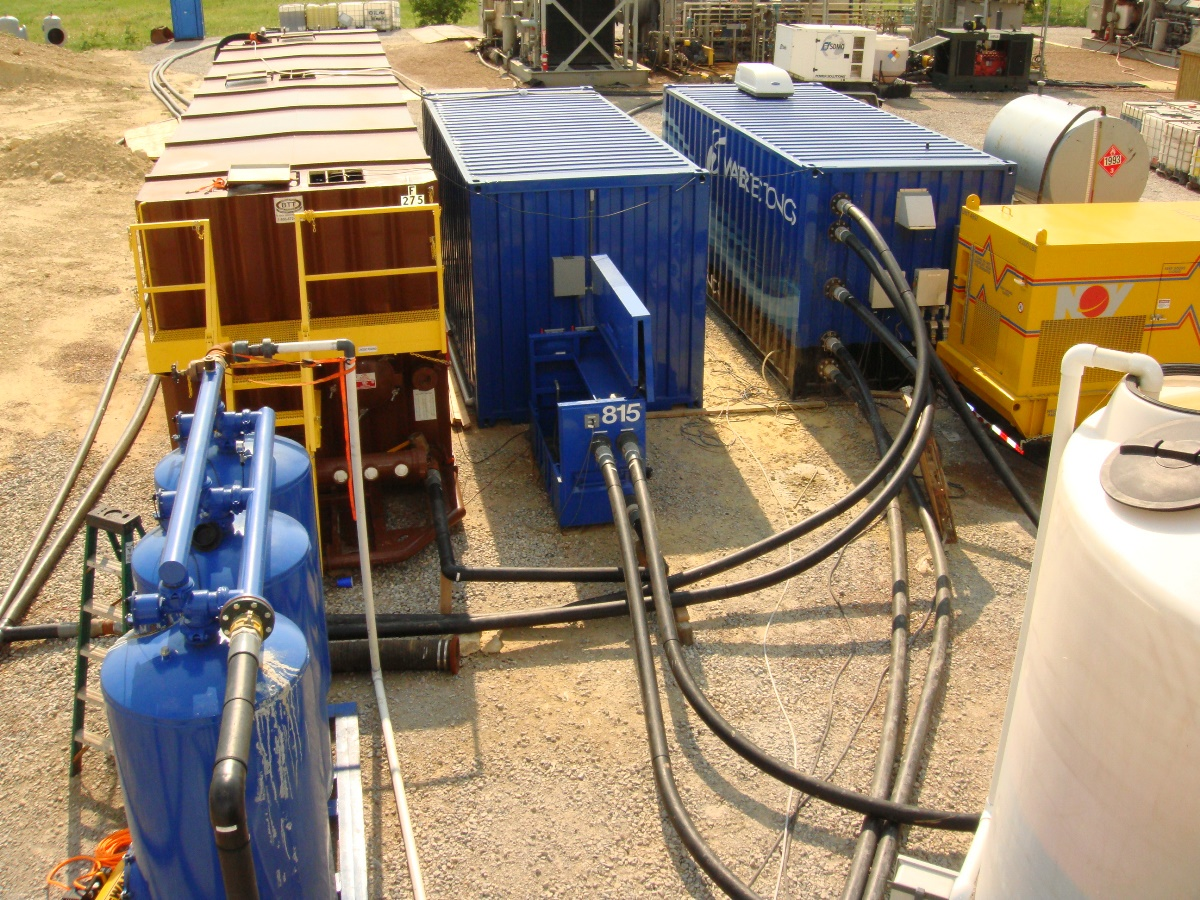 recycle flowback and produced water