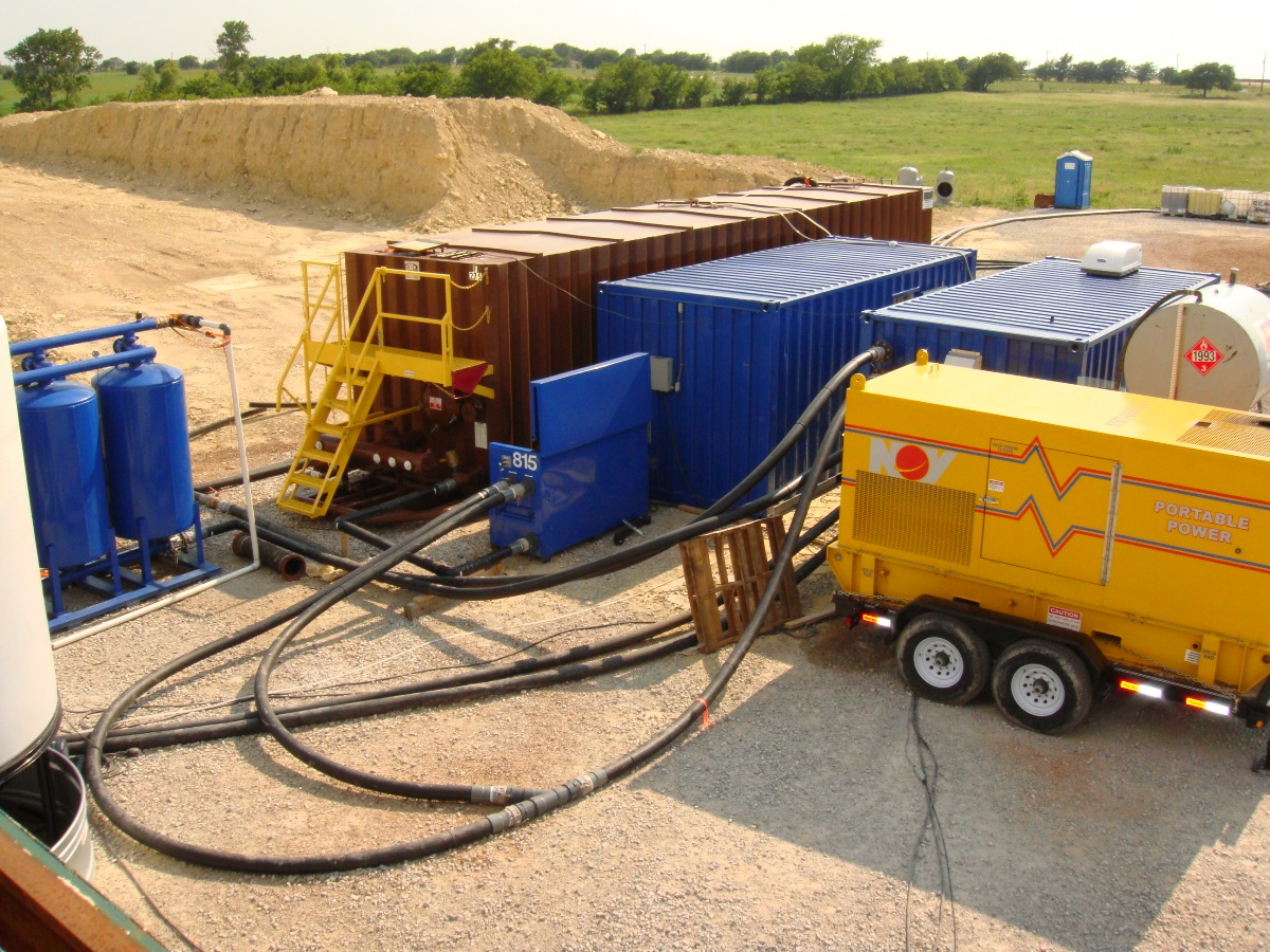 shale gas completion operations