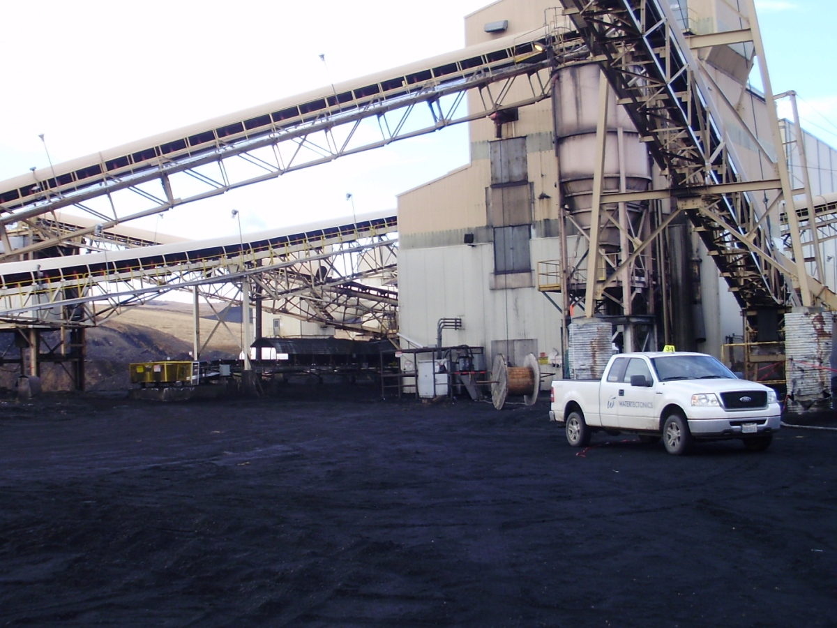 Colorado coal processing facility