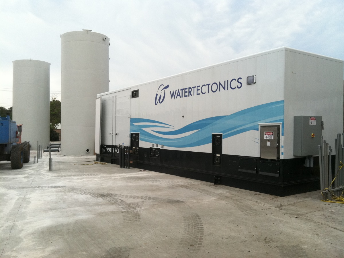 400gpm electrocoagulation water treatment system