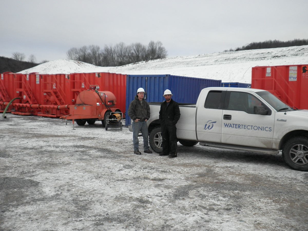 Marcellus Shale Treatment Project