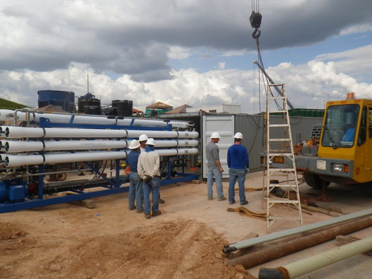 Produced Water Treatment Pilot Project