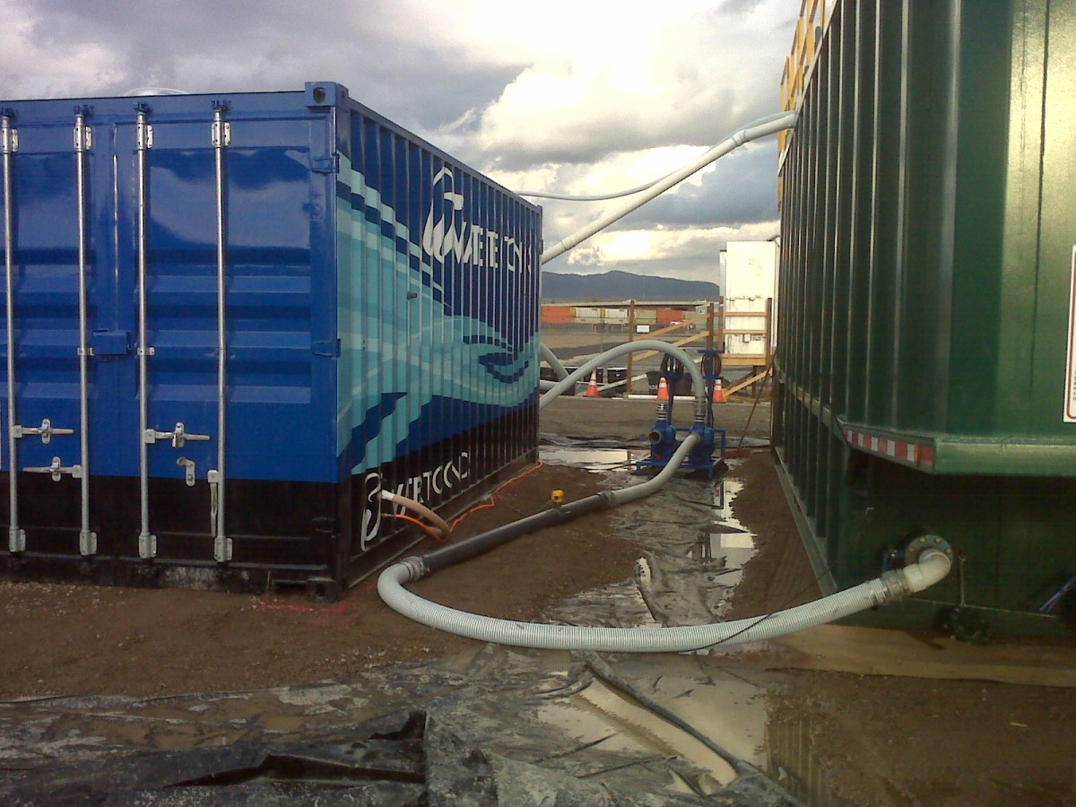 300gpm electrocoagulation water treatment system