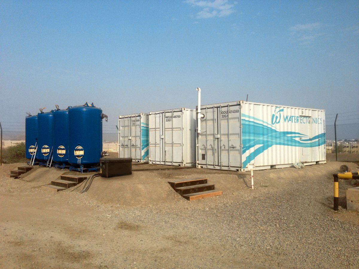 oil tank farm in Oman