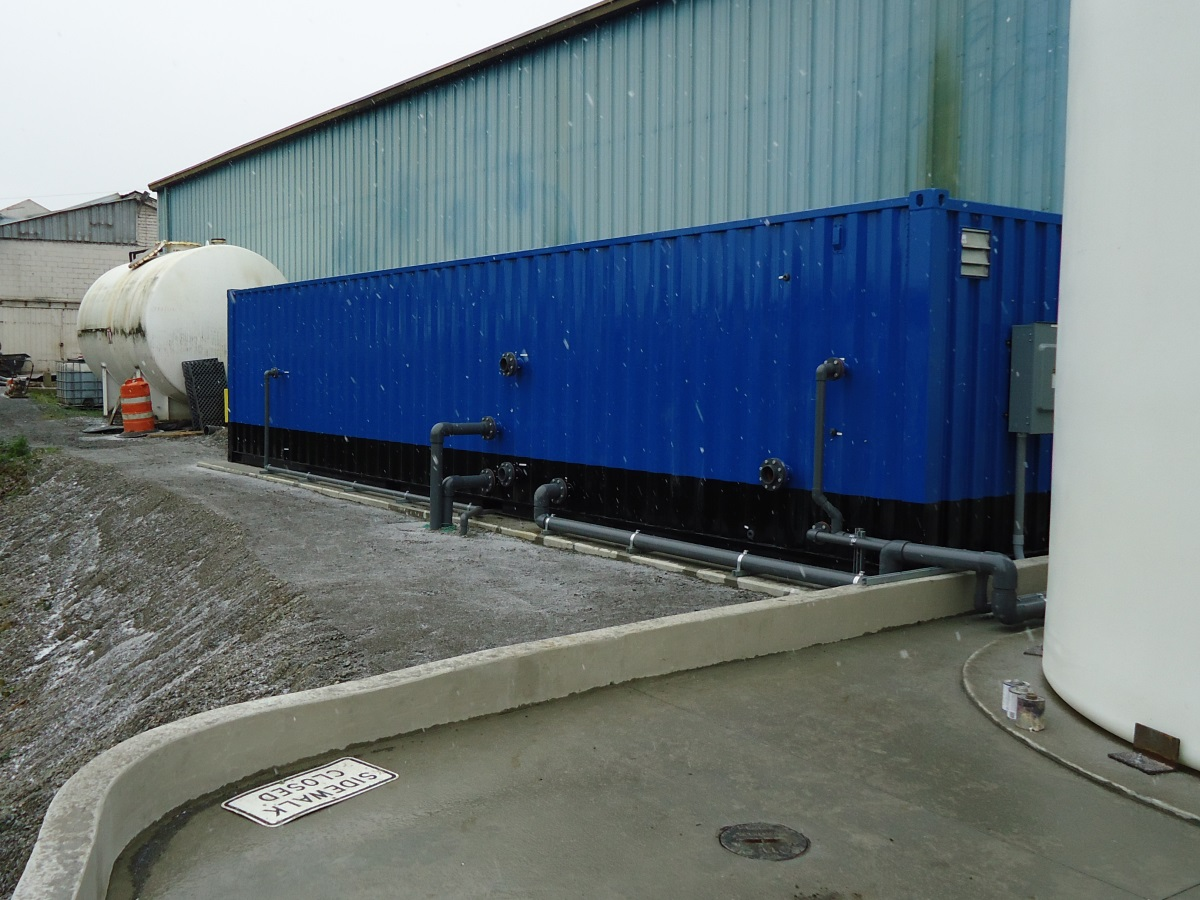 meet stormwater benchmarks with electrocoagulation