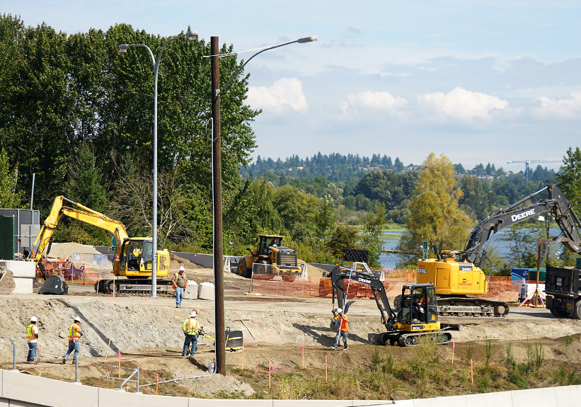 SR 520 Montlake Phase Construction